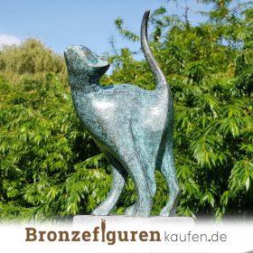 Katzenfiguren bronze