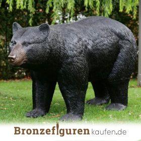 Bärenfiguren aus Bronze
