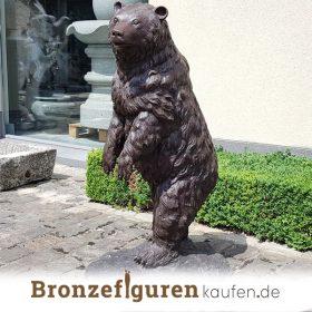 Bärfigur Bronze