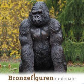 Bronze Affe , Gorilla