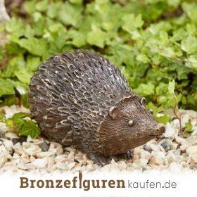 Igelfigur aus Bronze